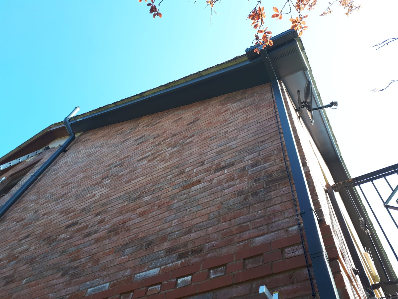 uPVC Gutter, Fascia and Soffit Painting and Spraying