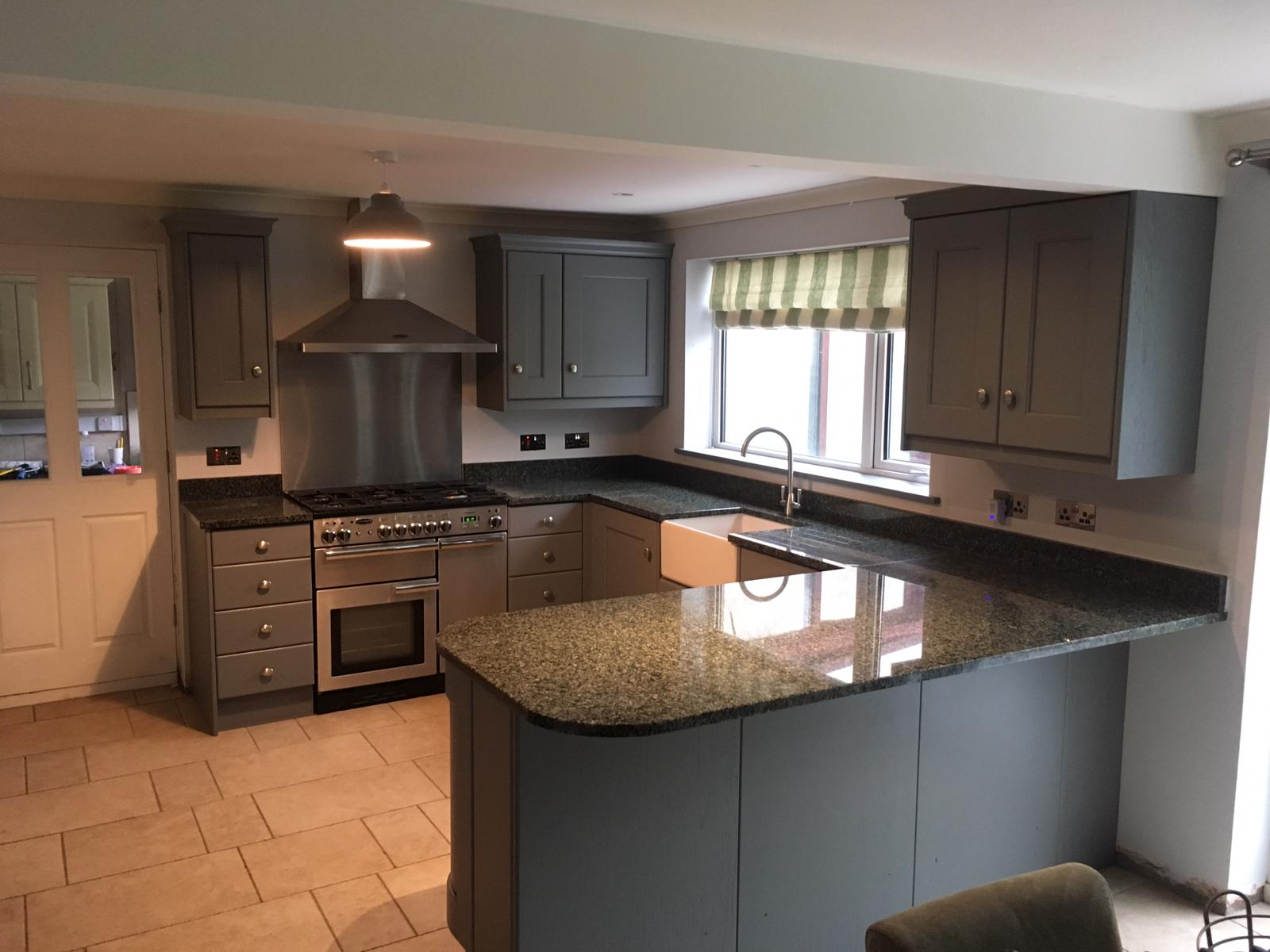 Kitchen Respray And Spray Paint Kitchen Cabinets Costs Cheshire Upvc Coating